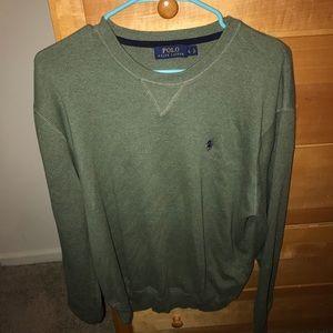 Ralph Lauren Polo Green Sweater LARGE